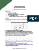 CUESTIONARIO PROTOCOLO PARA LA TOMA DE MEDIDAS ANTROPOMETRICAS