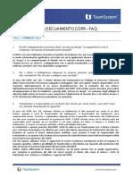 FAQ Commerciali e tecniche - KIT GDPR