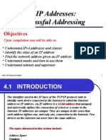 TCP IP Protocol suite Chap-04 IP Addresses Classful