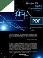 Interface 2011 Brochure