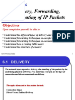 TCP IP Protocol suite Chap-06 Delivery and Routing of IP Packets