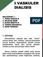 PPT KEL 7 (AKSES VASKULER HEMODIALISIS)