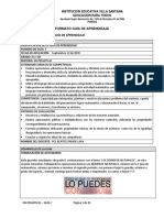 Guía de Aprendizaje Grado 6 - 7