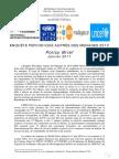 Enquête Périodique auprès des ménages 2010 - Policy Brief