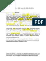 EJEMPLO DE REGISTRO DE ENFERMERÍA