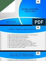 PPT- Ankit Majmudar - Module 4 - Shipping, Logistics & Others - AMA