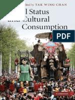 Tak Wing Chan - Social Status and Cultural Consumption (2010, Cambridge University Press) - libgen.lc.pdf