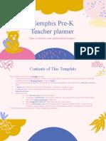 Memphis Pre-K Teacher Planner by Slidesgo.pptx