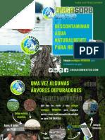 Brochura distribuidor ORGASORB water