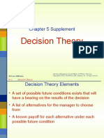 Chap 5s Decision Theory