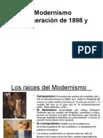 Modernismo y generación del 98 interp (копия)