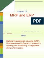 Chap 15 Mrp & Erp