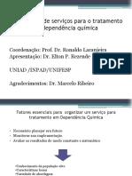 Organização de serviços para o tratamento da d.q.