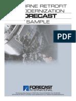 Airborne Retrofit and Modernization Forecast Sample_R501