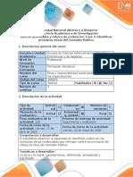 Guía de actividades y rúbrica de evaluación - Fase 2 - Identificar principios éticos del Contador Público