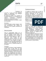 Les métiers p27-29