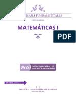 1º Matemáticas 2020-2021 Curso Remedial