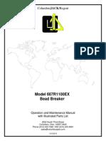 667R1100EX SN Bead Breaker Manual