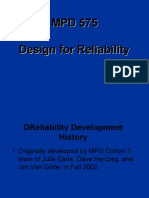 Design for  Reliability June 2007.ppt