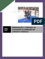 manual - ufcd 3497 - Dinamização de actividades de animação
