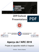 SPACE - Space Projects & Capabilities - LCol Antifave-Mr. Bellahind - Apr 4 2019 - FRE