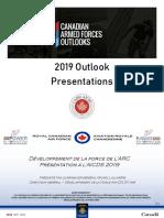 RCAF Force Development Update - BGen Michel Lalumiere - FRE - Apr 4 2019