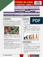SEMANA 15 - LA SELECCIÓN NATURAL DA LUGAR A DIFERENTES ESPECIES [2do CIENCIA Y TECNOLOGÍA]