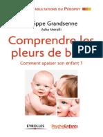 comprendre les pleures des bébés