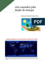 Aula de impactos da produção de energia