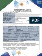 Tecnología de Poscosecha - Fase 5 - Desarrollar el Componente práctico