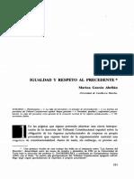"""01. GASCÓN ABELLÁN, Marina. """"Igualdad y respeto al precedente"""" en Derechos y Libertades.pdf"""