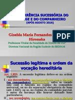 Giselda - Concorrência Sucessória do Cônjuge e do Companheiro (2016).ppt