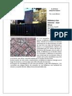 Detalle Arquitectonico Biblioteca Sant Antoni