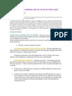 CARGA DE LA PRUEBA ART 167