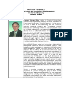 Professor Steven Male cv VM Seminar Malaysian IVMa