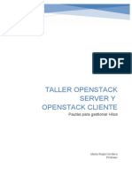 PROYECTO OPENSTACK SD