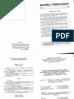 C 58-96 Norme tehnice privind ignifugarea materialelor combustibile folosite in ctii