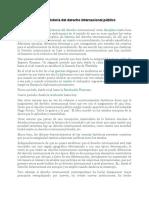 TERCERA CLSE DE DERECHO INTERNACIONAL PUBLICO