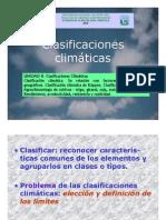 8. Clasificaciones climaticas