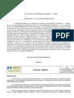 ANEXO I. Check list UHE_PCH AGÊNCIA NACIONAL DE ENERGIA ELÉTRICA ANEEL DESPACHO Nº 2.117, DE 26 DE JUNHO DE 2012.