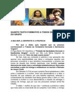 T - QUARTO TEXTO FORMATIVO A TODOS OS MEMBROS DO GRUPO