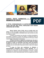T - QUINTO TEXTO FORMATIVO A TODOS OS MEMBROS DO GRUPO
