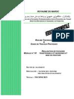 M10-Realisation de pochoir-BTP-TPDB