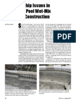 Shotcrete Workmanship