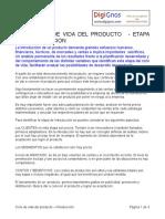 3 Ciclo de vida del producto INTRODUCCION
