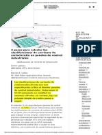 4 pasos para calcular las clasificaciones de corriente de cortocircuito en paneles de control industriales _ Recurso de ingeniería eléctrica