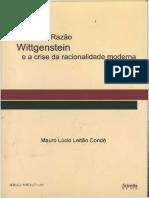 Wittgenstein - As teias da Razão e a crise da racionalidade moderna