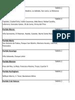 TARIFAS POR PARTIDO Mercado Flex