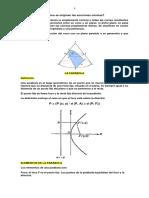 PARABOLA - GEOMETRIA ANALÍTICA-Ejercicios
