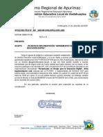 OFICIO HERRAMIENTAS DE GOOGLE PARA LA EDUCACION